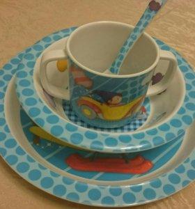 Новый подарочный набор посуды