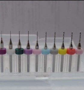 Свёрла для микро дрели набор 0.3мм до 1.2мм