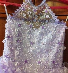 Нарядное и очень красивое платье для девочки