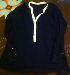 Рубашка из тонкой ткани