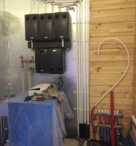 Срочный ремонт Отопления,водоснабжения канализации