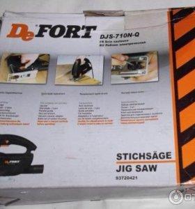 Лобзик электролобзик DeFort DJS 710 Ватт новый
