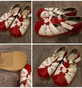 Новые детские сандали. Размер 25-25,5.