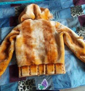 Меховая курточка для девочки