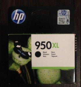 Картридж для принтера hp 950 xl чёрный