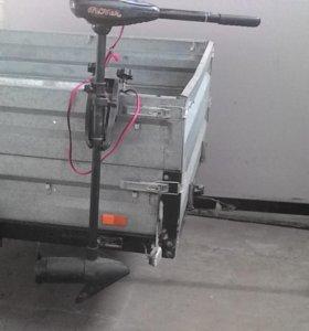 Мотор электрический лодочный фловер