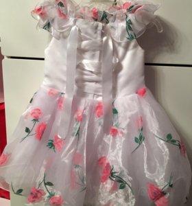 Платье на 2 года