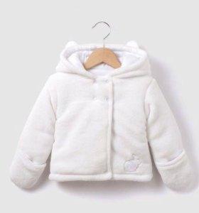 Куртка (флисовое пальто) весна-осень р 86