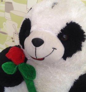Плюшевая игрушка, плюшевый медведь, панда.