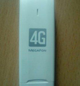 Модем мегафон 4G, работает!