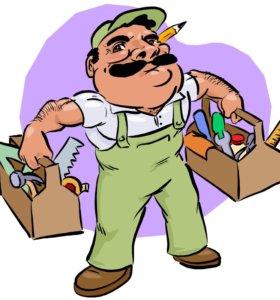 Услуги по осуществлению ремонта в ваших квартирах.