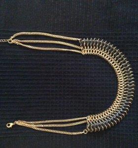 Украшение на шею ожерелье
