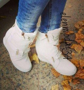 ботиночки новые в наличии. зима