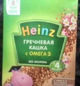 Каша безмолочная гречневая с 4 мес Heinz