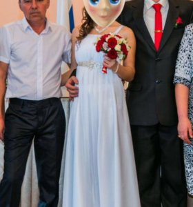Платье свадебное греческого стиля