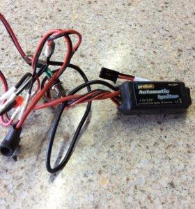 Пусковая электроника для калильного двигателя РС