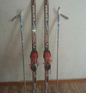 Лыжи для детей бу