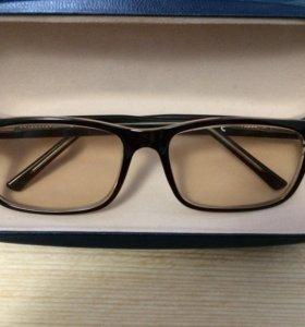 Компьютерные очки с футляром