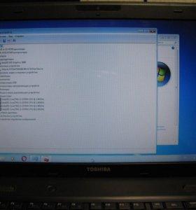 Ноутбук Toshiba на i3