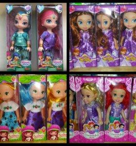 Новые куклы. София и другие принцессы