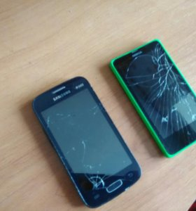 Samsung star plus и Nokia lumia
