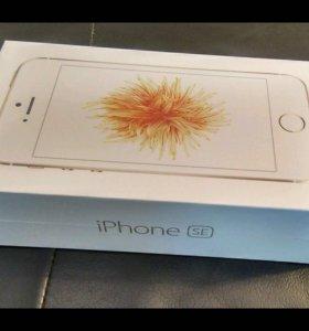 Новый iPhone SE Золотой (Gold)