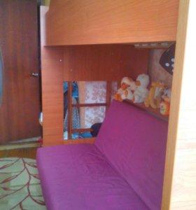 Кровать двух-ярусная 89207483905