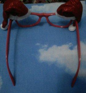 Новогоднии очки
