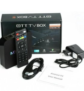 OT TV BOX 4K WI-FI приставка Android 5.1