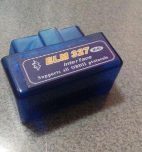 Автосканер Bluetooth ELM 327 OBD-II версия V2.1