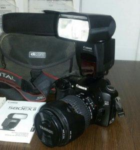 Canon EOS 30D + Canon Speed lite 580EX II