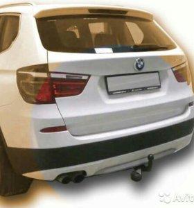 Фаркоп Leader на BMW X3 (кузов F25 с 2010 года)