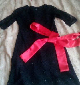 Гепюровое платье