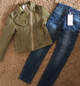 новые джинсы до 140