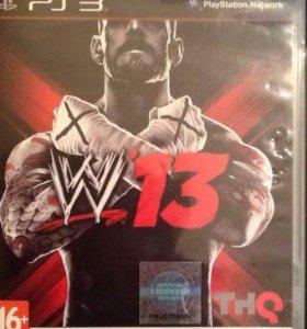 Игра на PS3(WWE13)