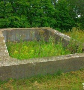 Готовый железобетонный фундамент под баню, дачу