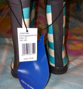 Новые резиновые сапоги из Финляндии