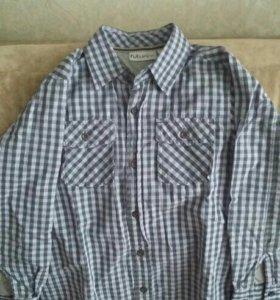 Рубашка на подкладе