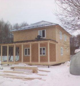 Сип дом,канадский дом, каркасник, каркасный дом