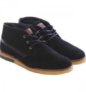 Замшевые новые ботинки Quiksilver