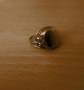 Печатка позолоченная размер19,5(серебро 925 проба)