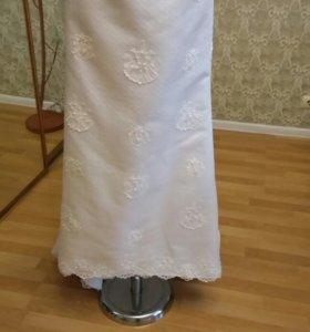 Новое свадебное платье 44-46 размер