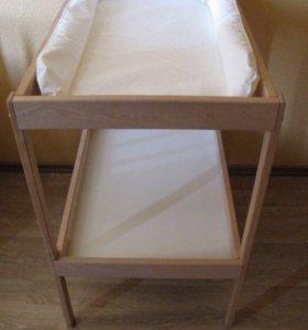 Пелинальный столик с икеа, в отличном состоянии