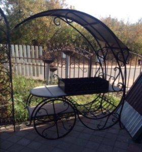 Мангал-колесница