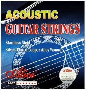 Новые струны для гитары