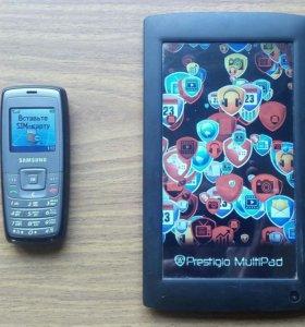 Телефоны и планшет.