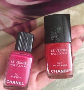 Лаки Chanel Тон в реале темнее немного