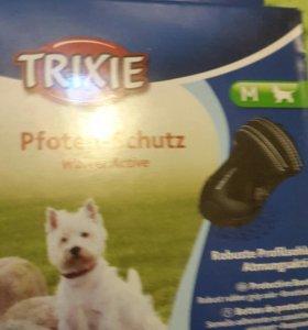 Обувь для собак:))