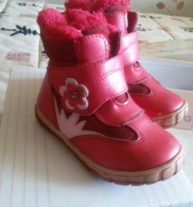 Сапоги фламинго зима