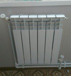 Монтаж систем тепло и водоснабжения.